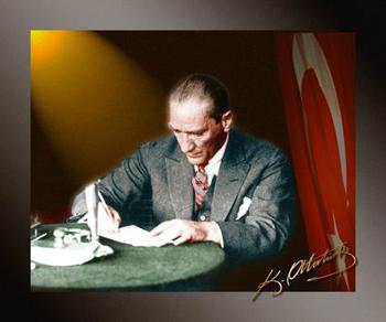 Yazar şair ve gazeteci atatürk